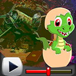 G4k Baby Dinosaur Rescue Game Walkthrough