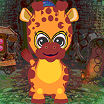 G4k Baby Giraffe Rescue Game