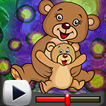 G4k Bear And Baby Bear Rescue Game Walkthrough