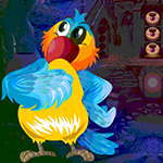 G4k Blue Parrot Rescue Game