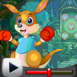 G4k Boxing Kangaroo Rescue Game Walkthrough