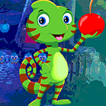 G4k Cheery Chameleon Rescue Game