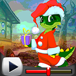 G4k Christmas Crocodile Escape Game Walkthrough
