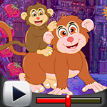 G4k Cuddly Monkeys Escape…