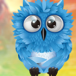 G4K Cute Blue Owl Escape …