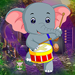 G4k Dancing Elephant Rescue Game
