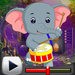 G4k Dancing Elephant Rescue Game Walkthrough