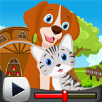G4k Dog And Cat Escape Ga…