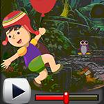 G4k Falling Boy Rescue Game Walkthrough