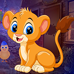G4k Find Lion Cub Game