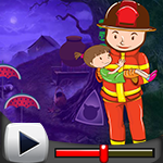G4k Fireman Rescue Baby Game Walkthrough