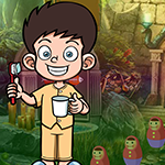 G4k Good Habit Boy Rescue Game