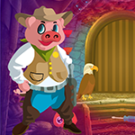 G4k Happy Pig Escape Game…