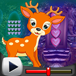 G4k Horny Deer Escape Game Walkthrough