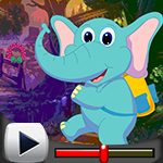 G4k Joyful Baby Elephant Rescue Game Walkthrough