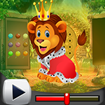 G4k King Lion Escape Game Walkthrough