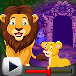 G4k Lion and Cub Escape G…