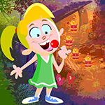 G4k Lollipop Girl Rescue Game