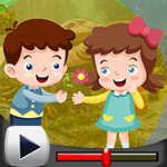 G4k Lovely Kids Rescue Game Walkthrough