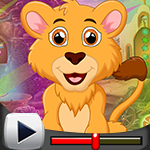 G4k Majestic Lion Rescue Game Walkthrough