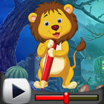 G4k Nimble Lion Rescue Game Walkthrough