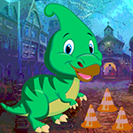 G4k Parasaurolophus Dinosaur Escape Game