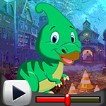 G4k Parasaurolophus Dinosaur Escape Game Walkthrough
