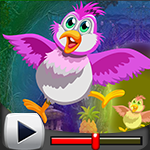 G4k Pinky Bird Escape Game Walkthrough