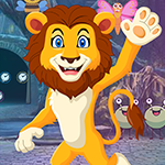G4K Prince Lion Rescue Game