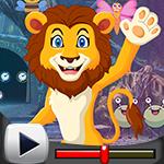 G4K Prince Lion Rescue Game Walkthrough