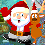 G4k Reindeer And Santa Re…