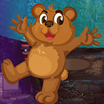 G4k Rescue Falling Bear Game