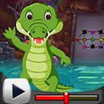 G4k Saltwater Crocodile Rescue Game Walkthrough