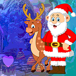 G4k Santa With Deer Escape Game