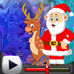 G4k Santa With Deer Escap…