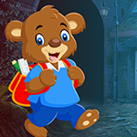 G4k School Bear Rescue Game