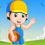 G4k Soccer Ball Player Rescue Game