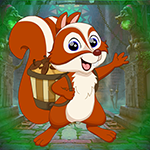 G4k Squirrel Carrying Fruit Rescue Game