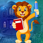 G4k Studying Lion Escape Game
