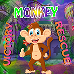 G4k Victory Monkey Rescue Game