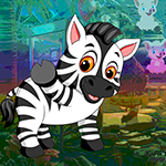 G4k Vivacious Zebra Escape Game