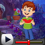 G4k Watermelon Boy Rescue Game Walkthrough