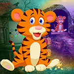 G4k Weary Tiger Rescue Game