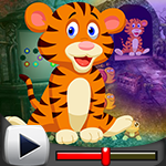 G4k Weary Tiger Rescue Game Walkthrough