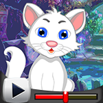 G4k White Cat Rescue Game…