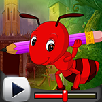 G4k Writing Ant Rescue Game Walkthrough